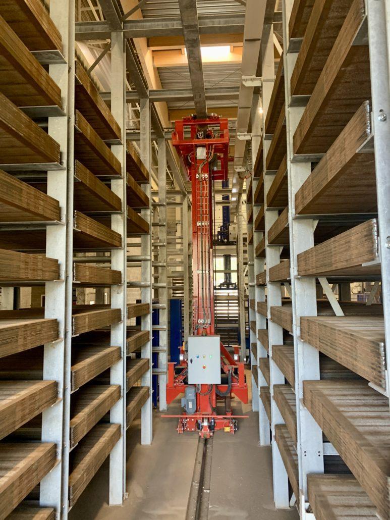 Pallets storage